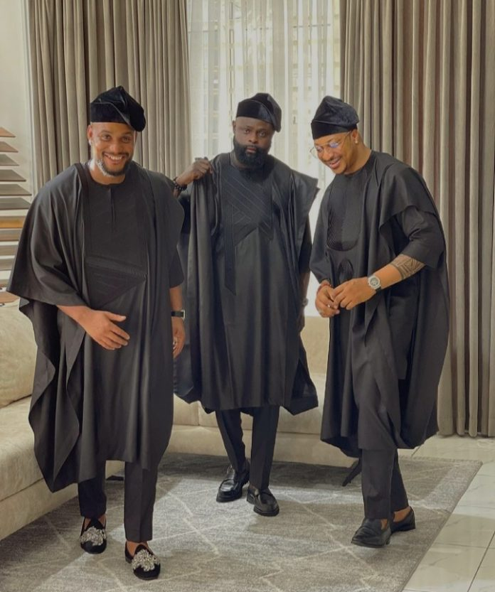Na One Village Cousin Of Yours Go Do Your Best Man Reactions As Alex Ekubo Is Confused On Choice Of Best Man Between Yomi Casual & Ik Ogbonna